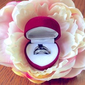 Costume Jewelry Black diamond Rings